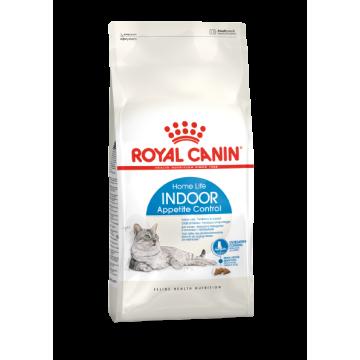 Сухой корм Royal Canin Indoor Appetite Control для кошек, живущих в помещении и склонных к перееданию