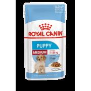 Влажный корм Royal Canin Medium Puppy соус для щенков собак средних размеров, 14...