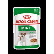 Влажный корм Royal Canin Mini Adult соус для собак мелких пород, 85гр...