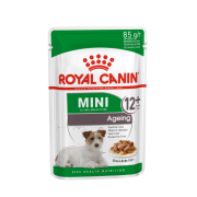 Влажный корм Royal Canin Mini Ageing 12+ соус для собак мелких пород, 85гр...