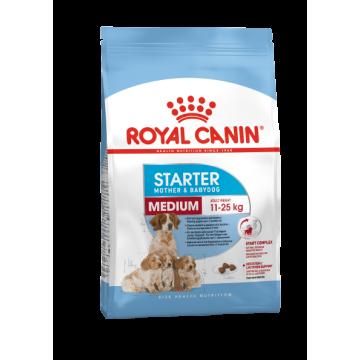 Сухой корм Royal Canin Medium Starter для щенков средних пород и сук в период лактации