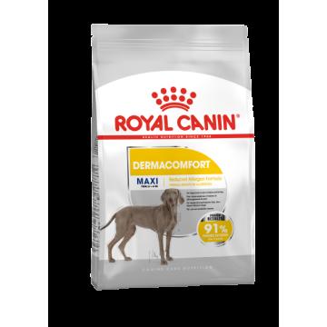 Сухой корм Royal Canin Maxi dermacomfort для собак крупных пород с 2 лет, для здоровой кожи и шерсти