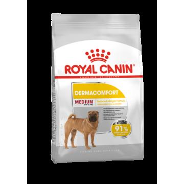Сухой корм Royal Canin Medium Dermacomfort для собак средних пород с чувствительной кожей
