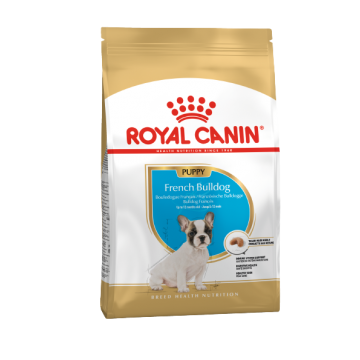 Сухой корм Royal Canin French Bulldog Junior для щенков французского бульдога