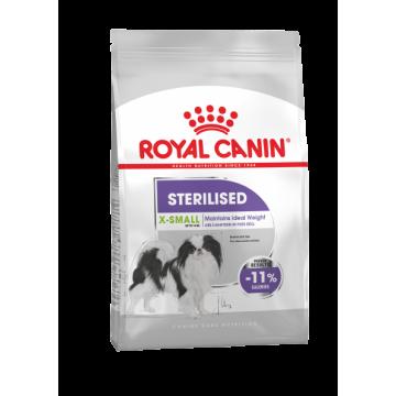 Сухой корм Royal Canin X-Small Sterilised adult для собак миниатюрных пород (500гр)
