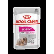 Влажный корм Royal Canin Exigent Adult паштет для собак привередливых в питании ...