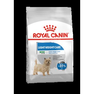 Сухой корм Royal Canin Mini Light Weight Care для собак мелких пород, предрасположенных к избыточному весу